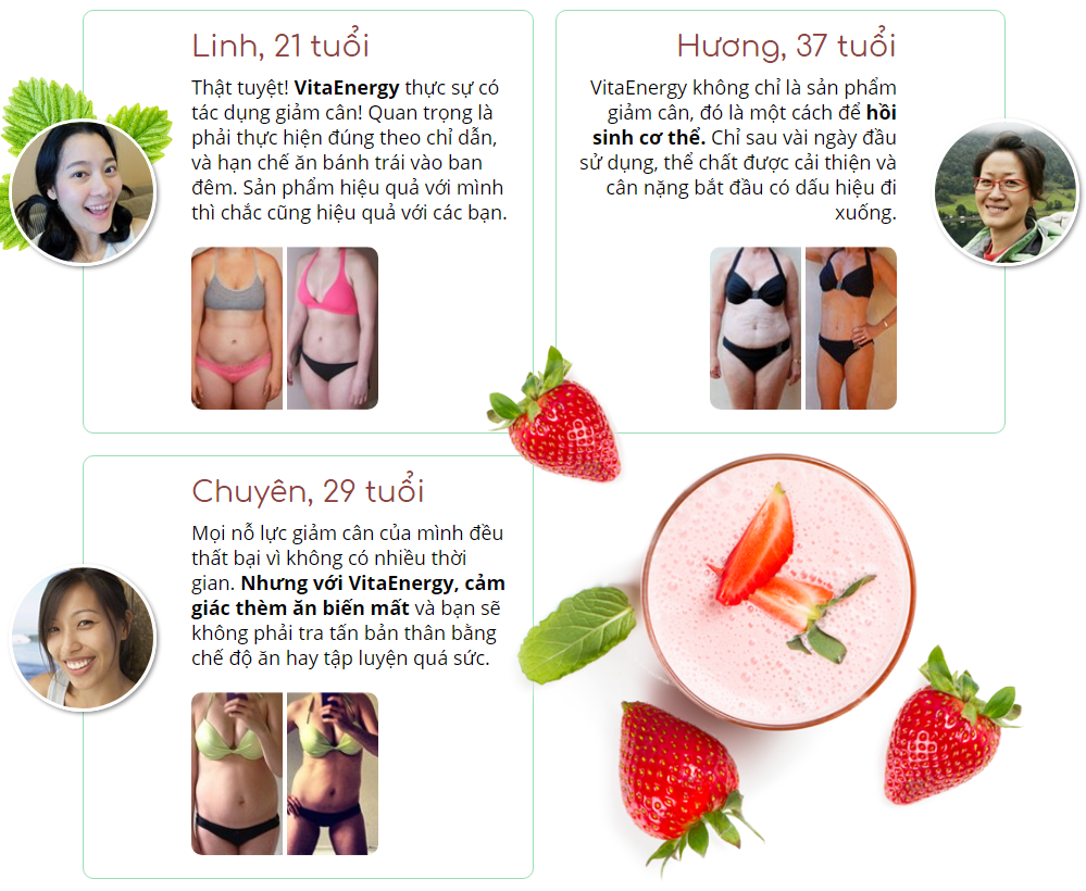 tác dụng phụ của vita energy strawberry