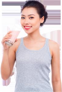bột giảm cân vita energy strawberry